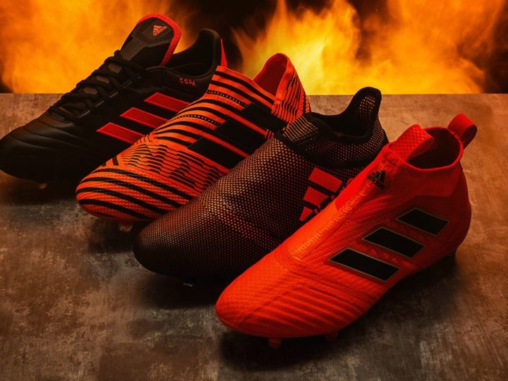 Adidas Pyro Storm Pack, brucia il campo!