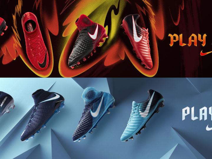 Nike Play FIRE e Play ICE, fuoco contro ghiaccio!